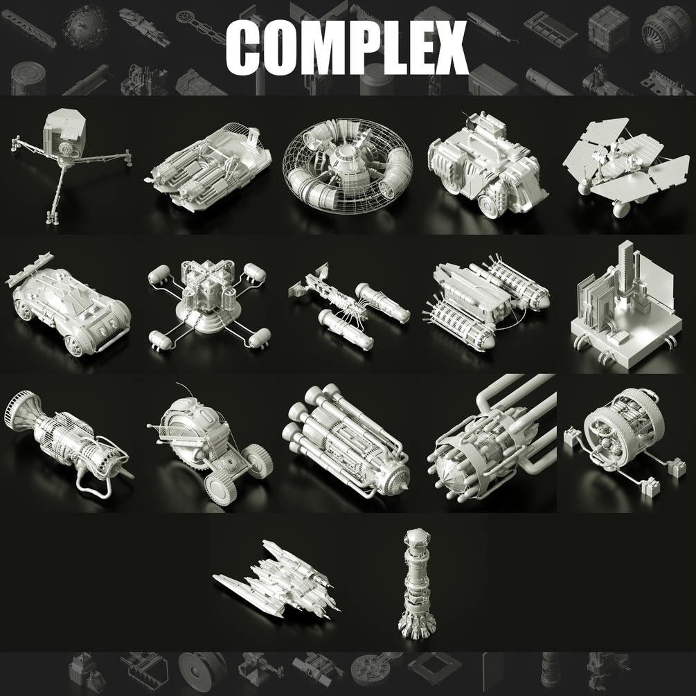 Download 200+ model for kitbash, Layout and more. model for kitbash model for kitbash,Layout