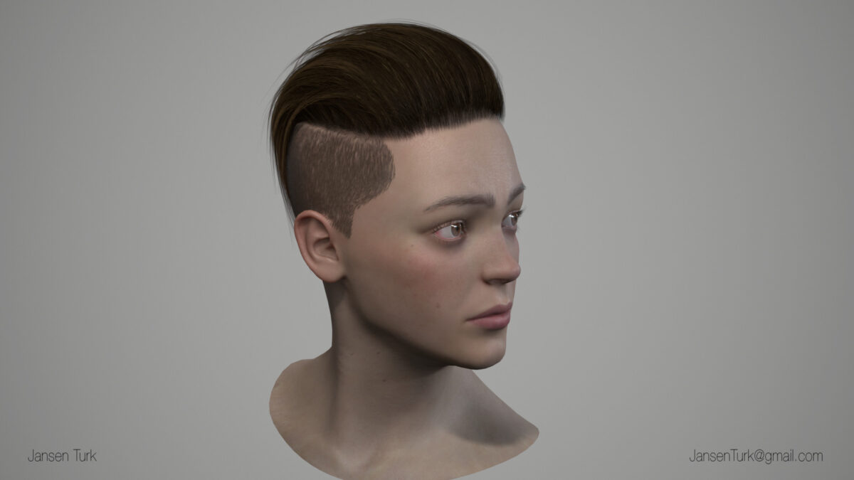 Real-time Hair Breakdowns_By Jansen Turk Real-time Hair Breakdowns Real-time Hair Breakdowns,Jansen Turk
