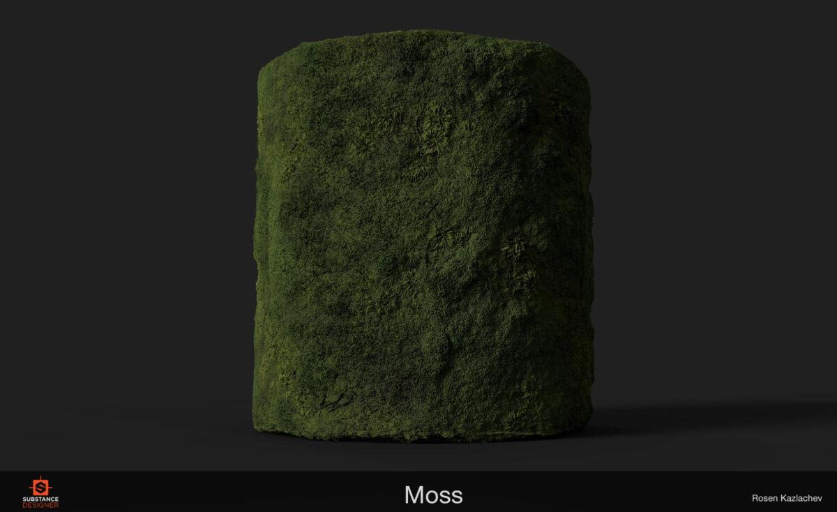 Moss Substance - Breakdown By Rosen Kazlachev Breakdown By Rosen Kazlachev Breakdown By Rosen Kazlachev,Moss Substance