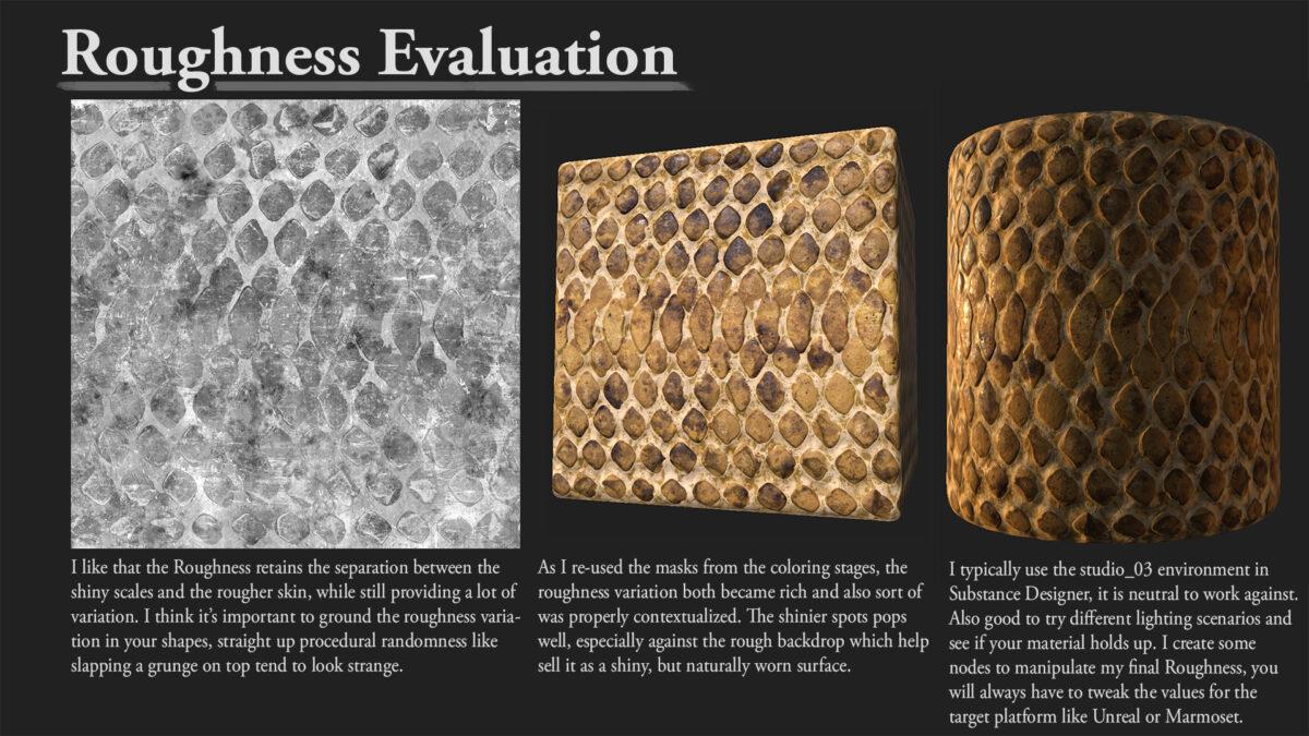 Snake Texture in Substance Designer - Breakdown By Olle Norling Snake Texture Snake Texture,Substance Designer
