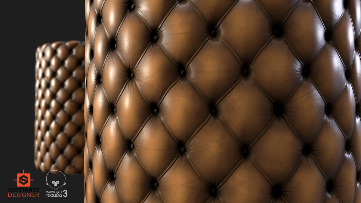 Chesterfield Leather-Substance Designer Tutorial-By Okan Beyit Chesterfield Leather Chesterfield Leather,Substance Designer Tutorial