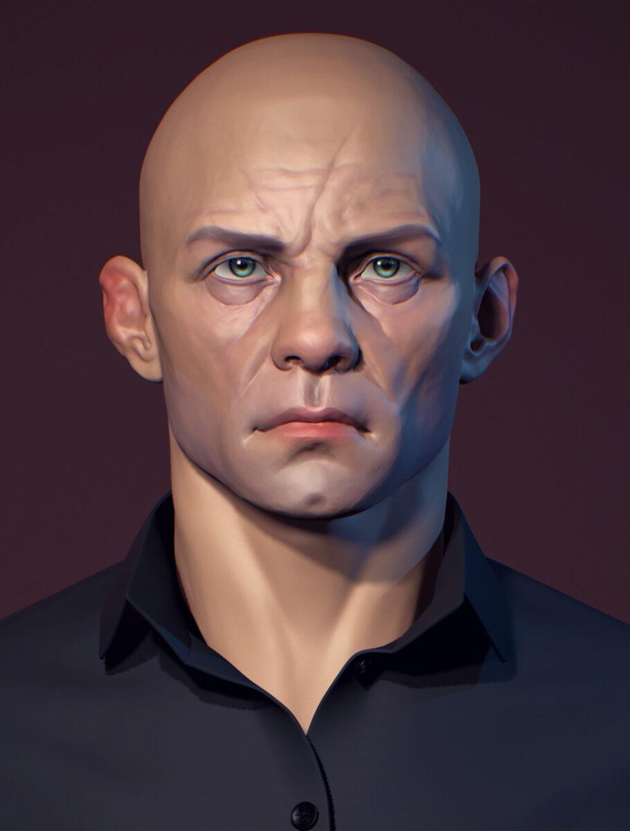 Download Male head _ ByAssel Kozyreva Download Male head Download Male head,Assel Kozyreva
