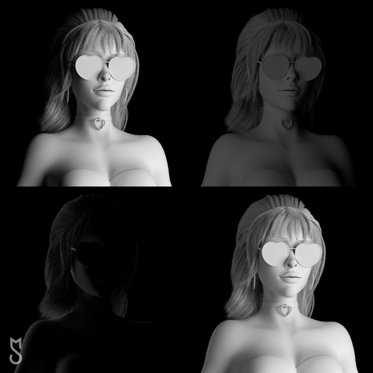 Stylized Portrait Tutorial _ By Sofya Medvedeva Stylized Portrait Tutorial Stylized Portrait Tutorial