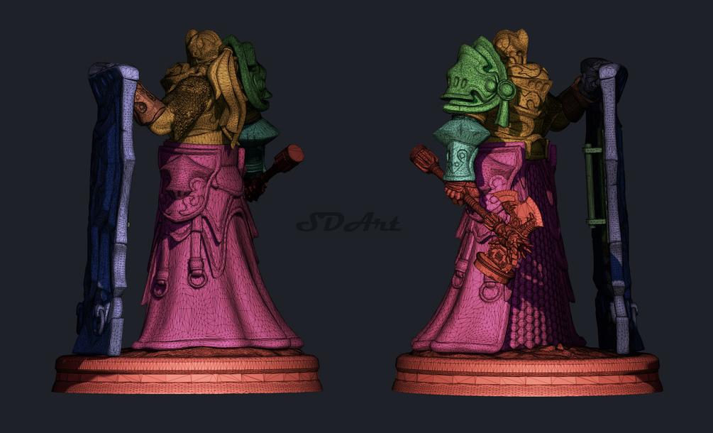 Heavy knight - Rafos-3d printed model Heavy knight Heavy knight,3d printed model