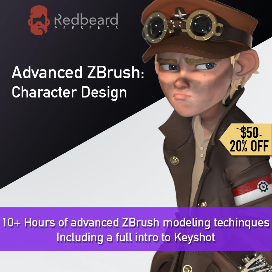 Advanced ZBrush & Intro to Keyshot Bundle Intro to Keyshot Bundle Intro to Keyshot Bundle,Advanced ZBrush