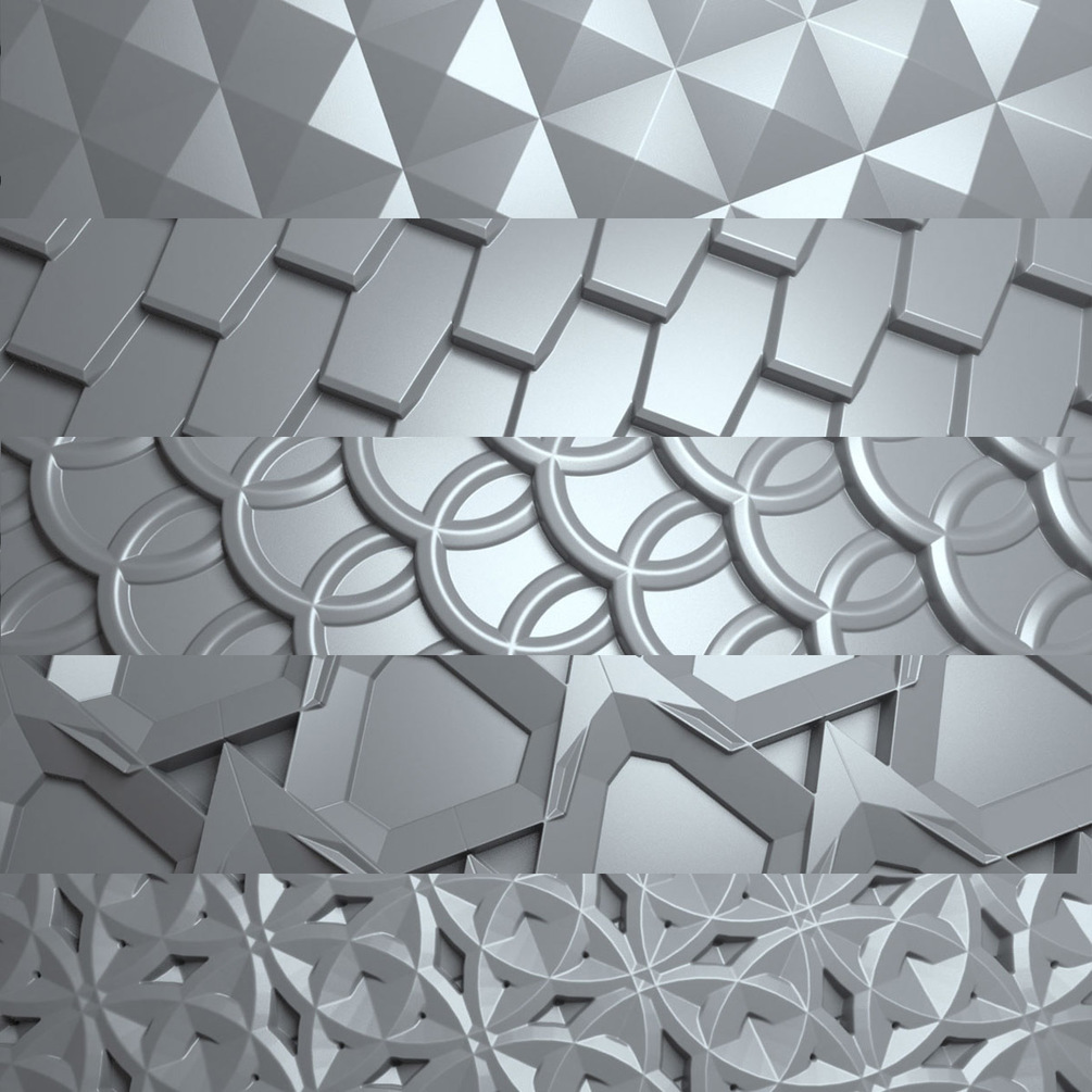 100 Tileable Displacement/Alpha Patterns 100 Tileable Displacement/Alpha Patterns 100 Tileable Displacement/Alpha Patterns