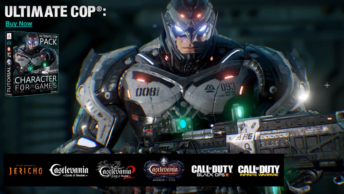 Ultimate Cop®: Tutorial - Character For Games [UK] _ By OscarPerezArt Character For Games Character For Games,Ultimate Cop
