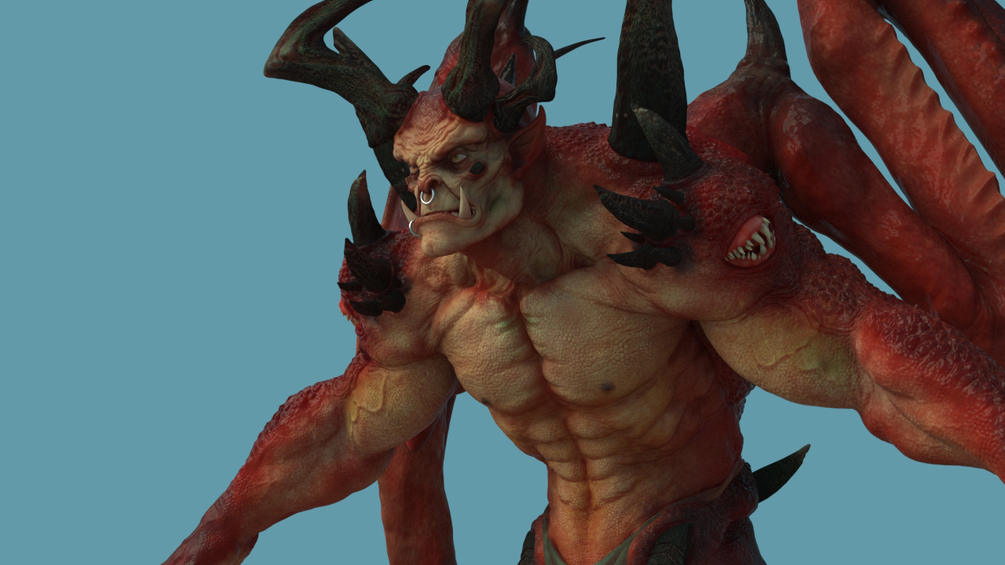 Leo Demon Maya Rig _ DOWNLOADS Leo Demon Maya Rig Leo Demon Maya Rig,DOWNLOADS