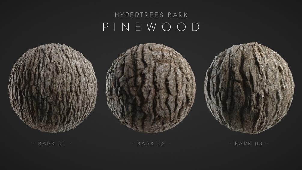 HyperTrees Bark - Pinewood (16K Studio Edition) _ By VERTEX LIBRARY HyperTrees Bark HyperTrees Bark,Pinewood,VERTEX LIBRARY