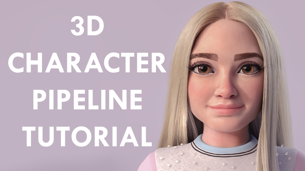 Free 3D Character Pipeline Tutorial _ By Danny Mac Free 3D Character Pipeline Tutorial Free 3D Character Pipeline Tutorial,Danny Mac