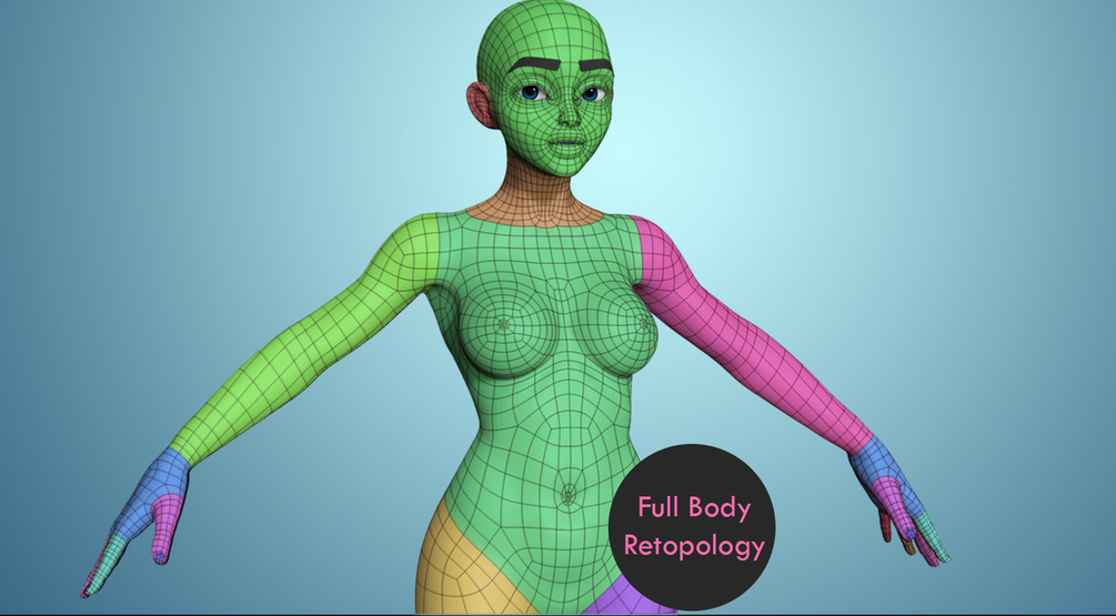 How to Retopologize the Rest of the Body _ By Danny Mac Retopologize the Rest of the Body Retopologize the Rest of the Body,Danny Mac