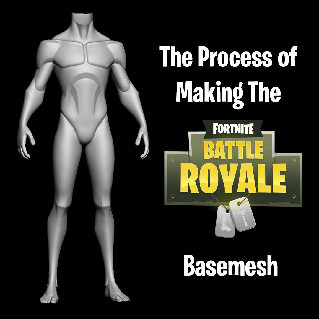 Fornite Basemesh Process_By Jack Roberts Fornite Basemesh Process Fornite Basemesh Process,Jack Roberts