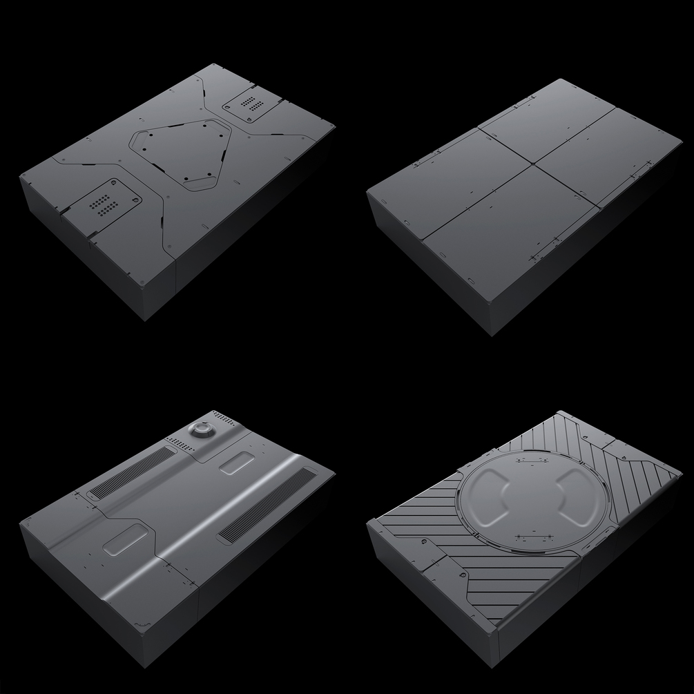 Sci-Fi Panels Pack vol.01 _ By Oleg Sci-Fi Panels Pack vol.01 Sci-Fi Panels Pack vol.01,Oleg