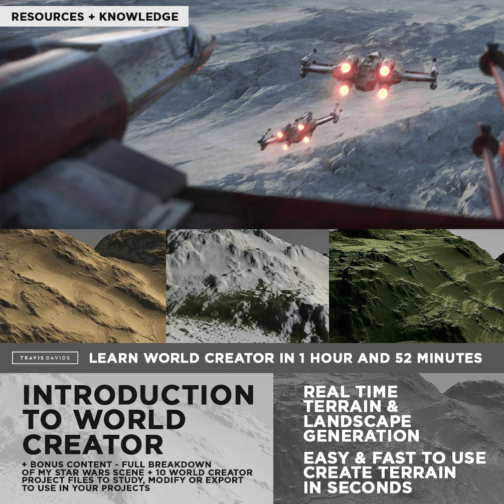 Introduction To World Creator + BONUS CONTENT _ By Travis Davids Introduction To World Creator Introduction To World Creator,BONUS CONTENT,Travis Davids