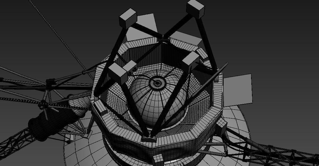 VOYAGER (SATELLITE) _ HIGH DETAIL 3D MODEL IN CHEAP RATES FOR SALE VOYAGER VOYAGER,SATELLITE,HIGH DETAIL,3D MODEL