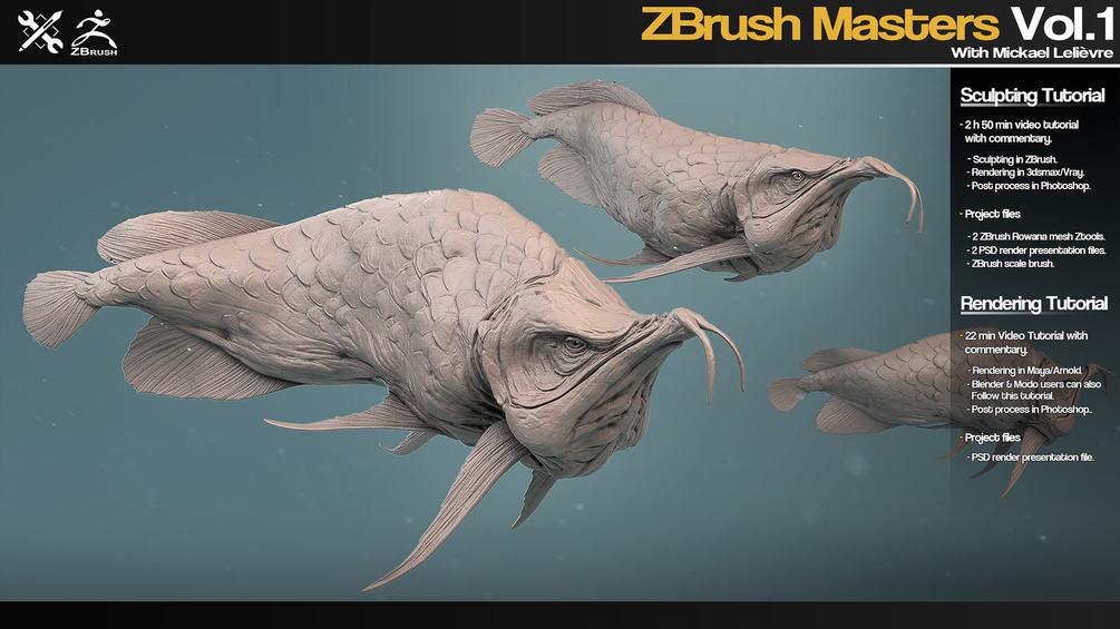 ZBrush Masters Vol.1 - JRO TOOLS ZBrush Masters ZBrush Masters,JRO TOOLS