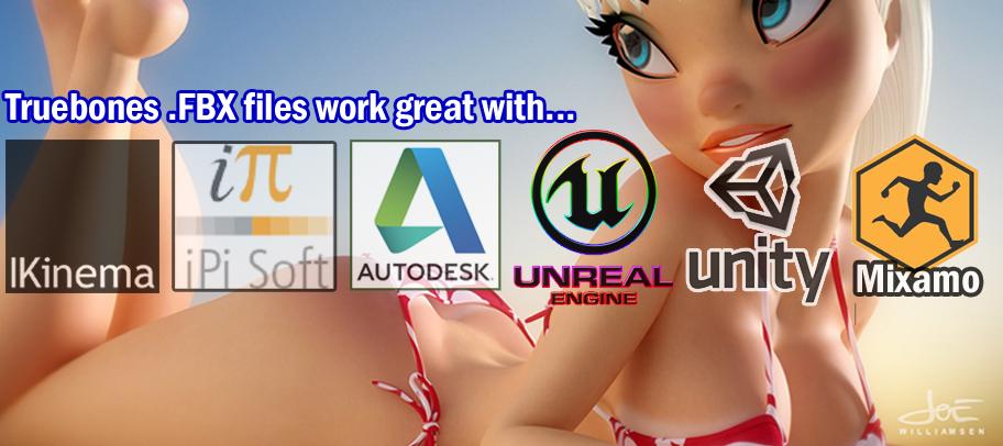 ProBones 10,000+ FBX/BVH Complete MOCAP Studio _ By Truebones FBX/BVH Complete FBX/BVH Complete,MOCAP Studio