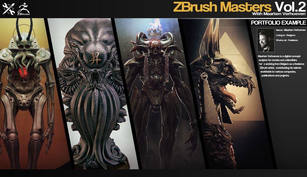 ZBrush Masters Vol.2 By JROTools ZBrush Masters ZBrush Masters,JROTools