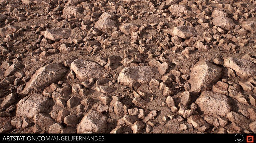 Desert Rocky Ground - Substance Designer By Angel Fernandes Desert Rocky Ground Desert Rocky Ground,Substance Designer