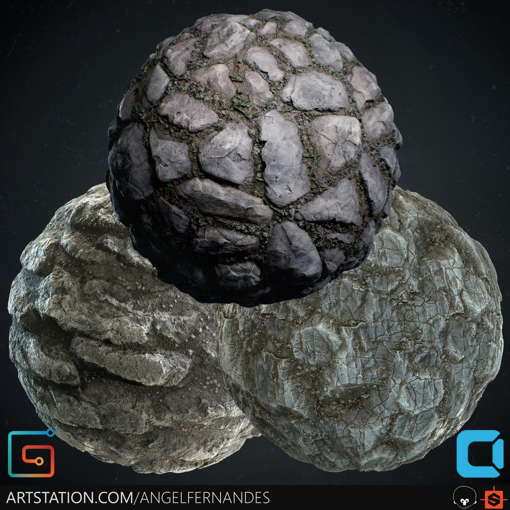Material Pack (Bundle) 04 - RockyGround - Cliff02 - RockyWall By Angel Fernandes RockyGround - Cliff02 RockyGround - Cliff02,Angel Fernandes,Material Pack