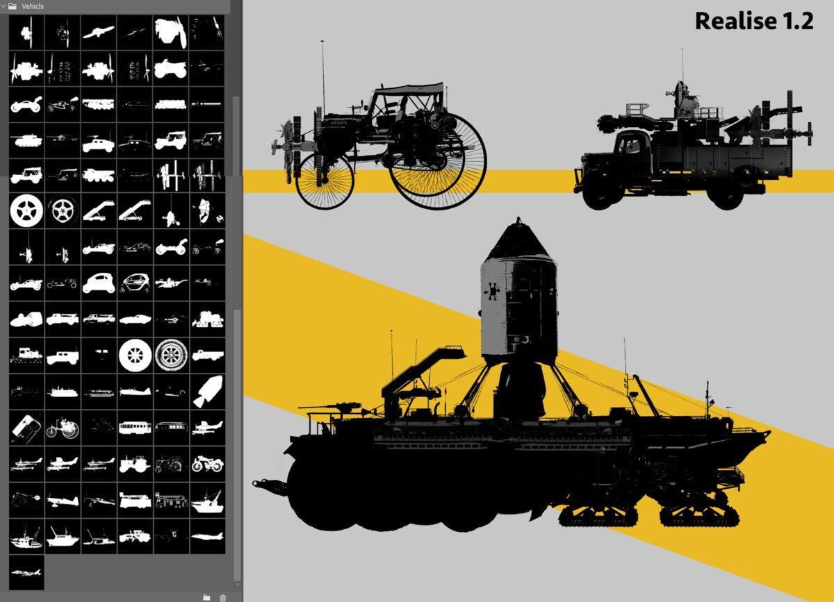 1500+ Kitbash Custom shapes (by Mels Mneyan) Kitbash Custom shapes Kitbash Custom shapes,Mels Mneyan
