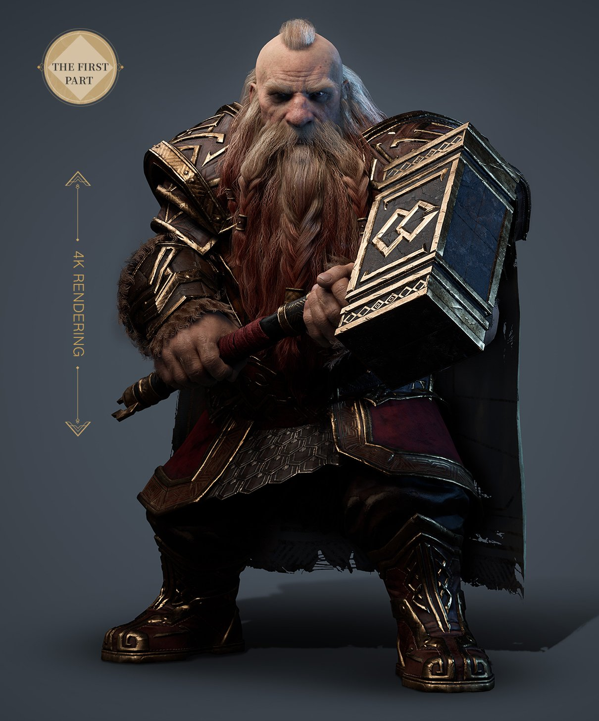 The Dwarf Warrior: 3D Character Creation For Game The Dwarf Warrior The Dwarf Warrior,3D Character Creation For Game