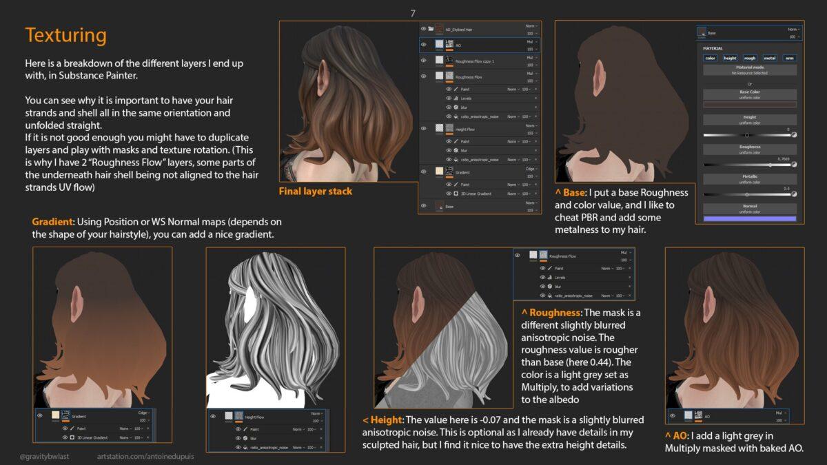 Stylized Hair Tutorial_By Antoine Dupuis Stylized Hair Tutorial_By Antoine Dupuis Stylized Hair Tutorial_By Antoine Dupuis