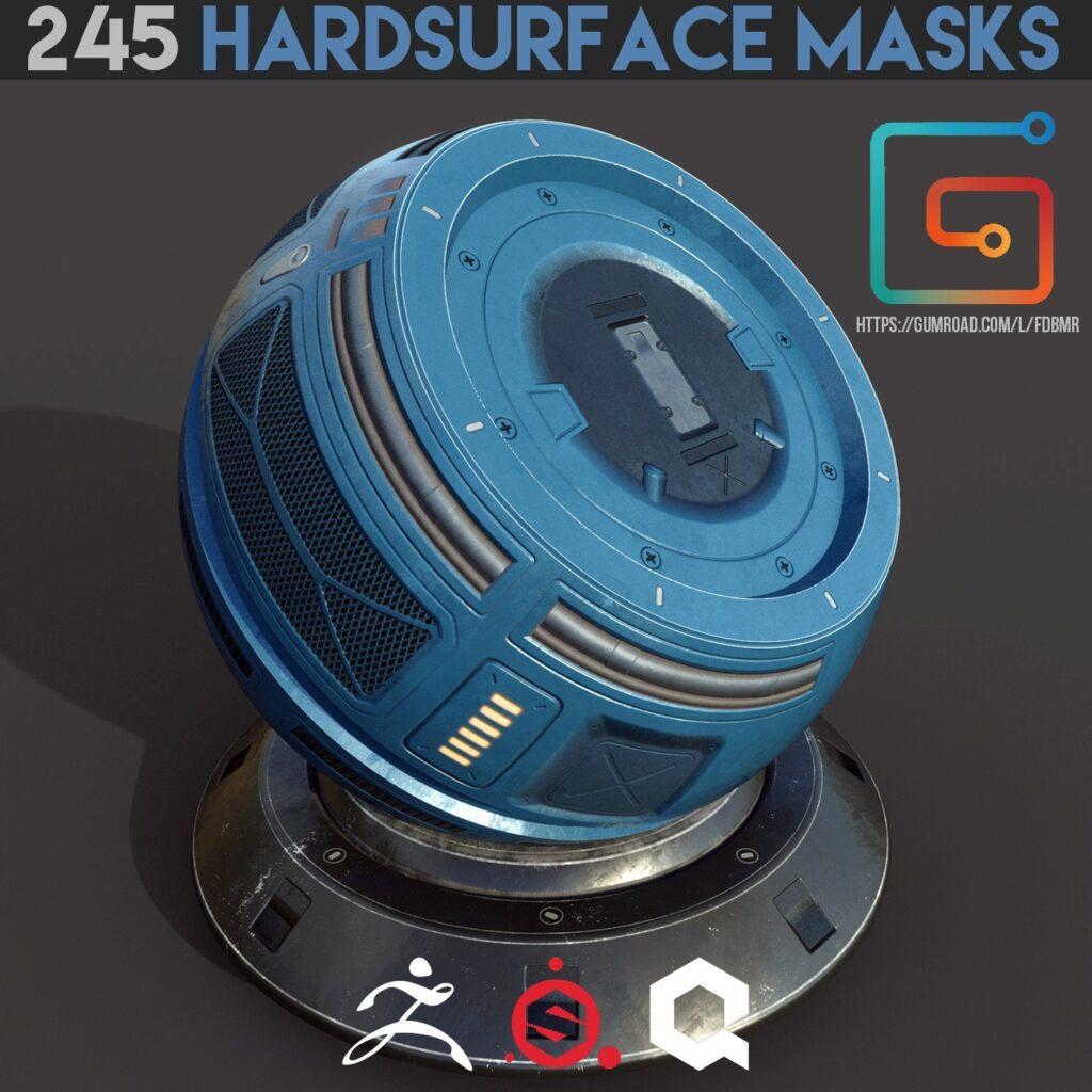 245 Hardsurface Alpha Masks Materials _ By Sculpting Tools Hardsurface Hardsurface,Alpha Masks Materials