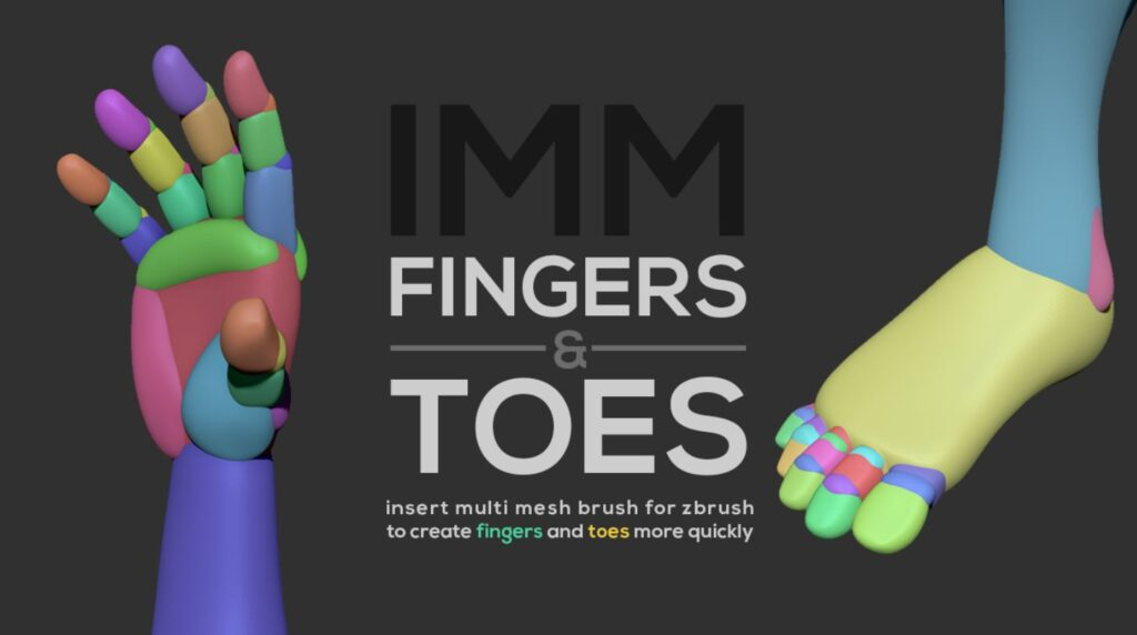 IMM Fingers & Toes _ By Joao Sousa Toes Toes,brushes