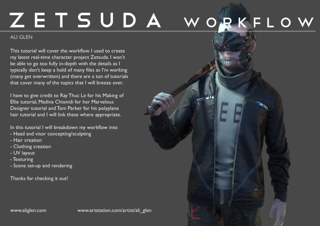 Zetsuda Workflow Tutorial _ By Ali Glen Workflow Workflow