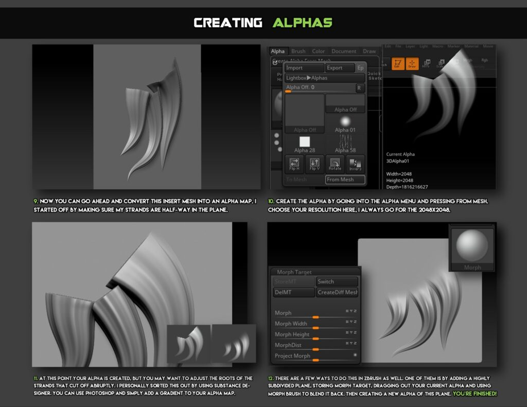 Hair Alpha and Stylized Fur Mini Tutorial _ By Jonas Roscinas Hair Alpha Hair Alpha,Stylized Fur Mini Tutorial,Jonas Roscinas