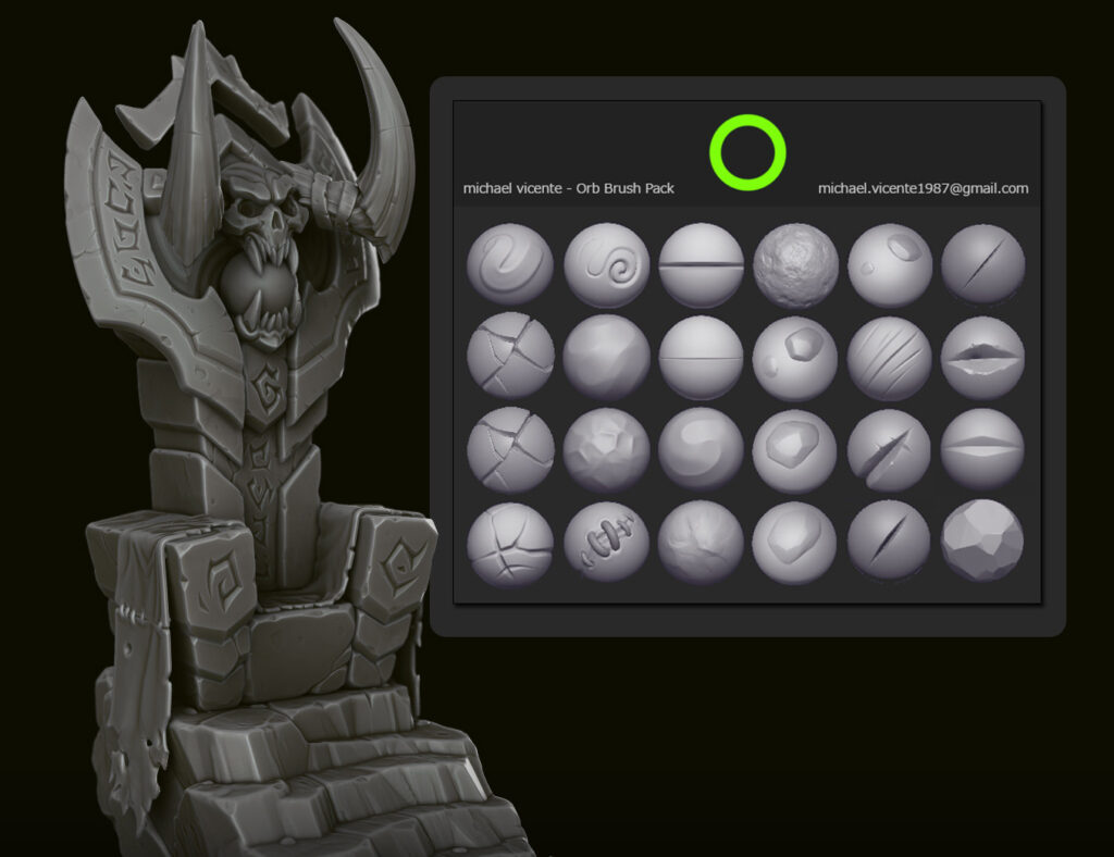 Orb Brush Pack _ By Michael vicente Orb Orb,Brush Pack