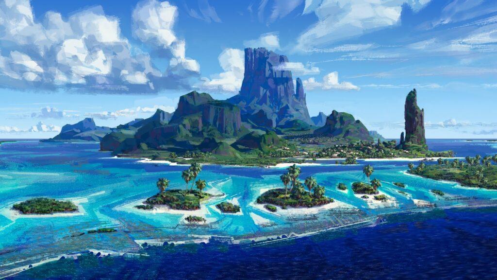 Moana Island Scene for Download Moana Island Moana Island,Download