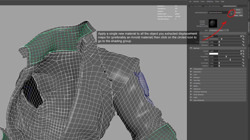 How to export Vector Displacement for Arnold How to export Vector Displacement for Arnold How to export Vector Displacement for Arnold