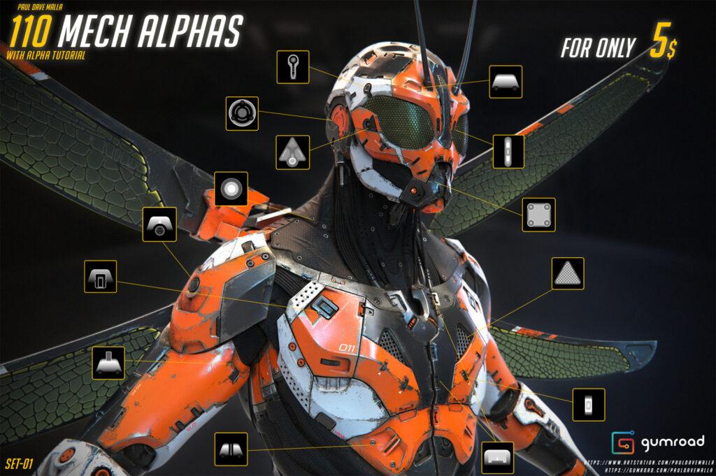 110 Mech Alphas _ By Paul Dave Malla 110 Mech Alphas 110 Mech Alphas,Paul Dave Malla