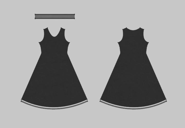 TUTORIAL - Marvelous Designer 7 - How To Create A Simple Dress _ By Travis Davids Marvelous Designer 7 Marvelous Designer 7