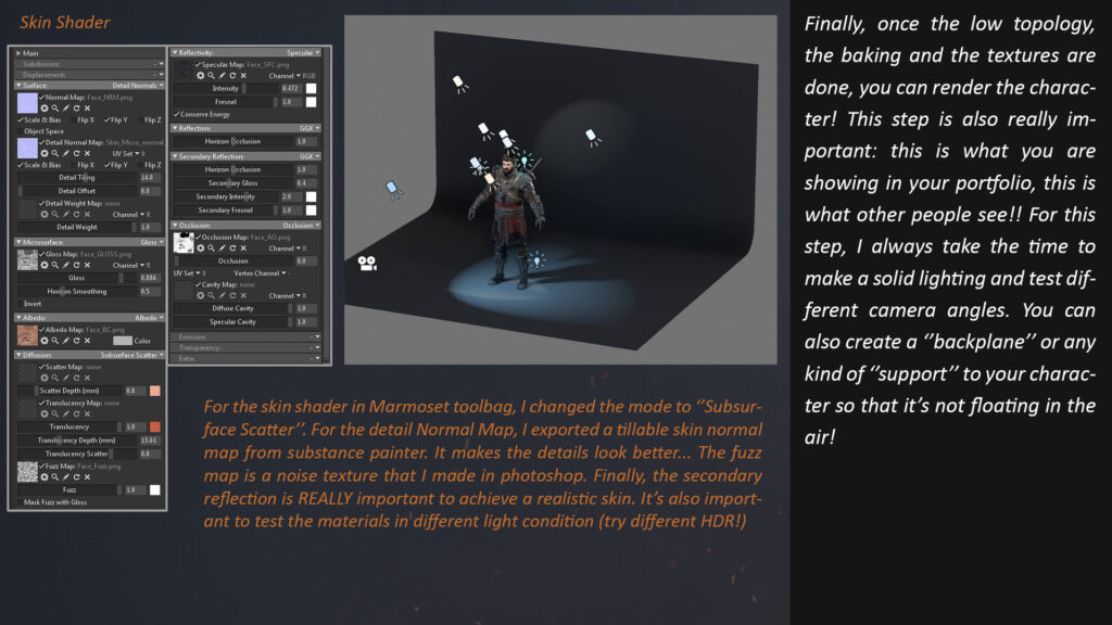 Zbrush tutorial_Witcher of the Cat school _ Real time _ By William Paré-Jobin Witcher Witcher,Cat school