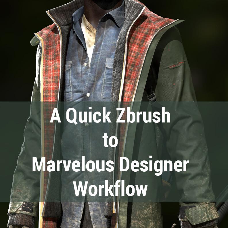 Marvelous Designer Workflow Tutorial _ By Yuri alexander Workflow Tutorial Workflow Tutorial