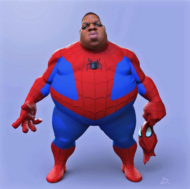 Biggie Spiderman Spiderman Spiderman