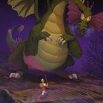 Dirk the Daring vs Singe the Dragon Dragon Dragon