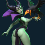 Maleficent and Diablo maleficent maleficent