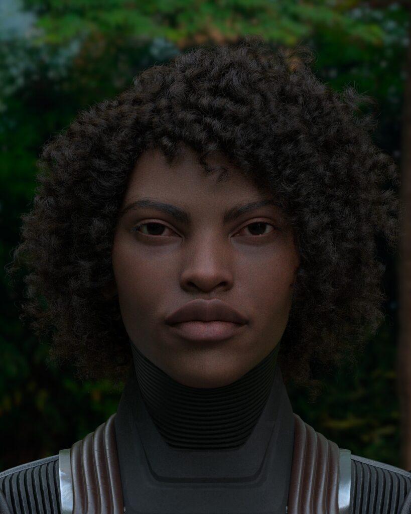 XGen African Hair Tutorial _ By Isaac Olander Hair Hair