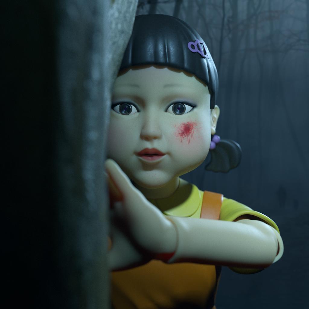 The murder doll in squid game murder doll murder doll