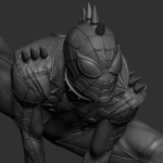 Spider man 1/4 statue spider man spider man