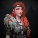 """Viking girl """"Faye"""" Viking Viking"""