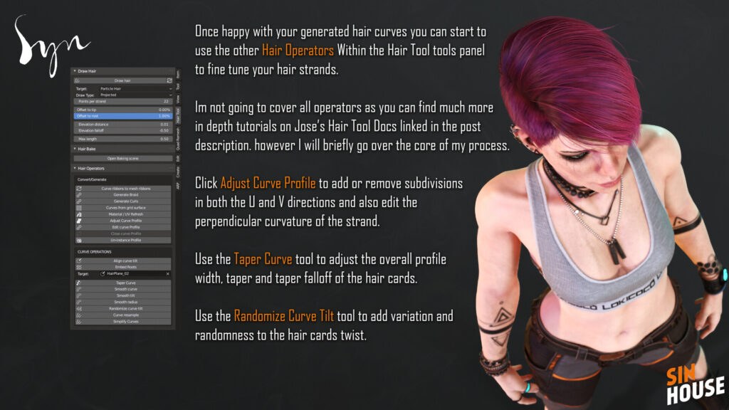 Blender Hair Tool Tutorial - Part 01 _ By Jack Perry Hair Tool Hair Tool