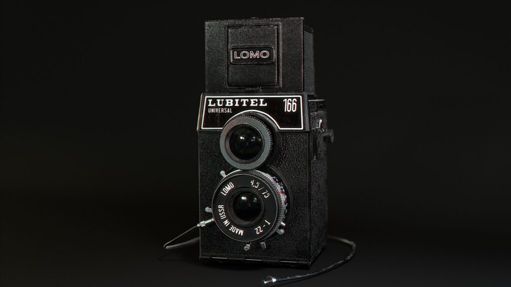 Lubitel Camera Texturing - Mari Vs Substance _ By Michael Wilde Lubitel Lubitel