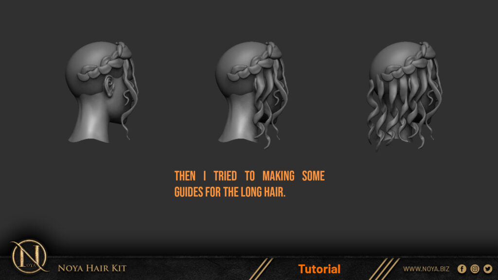 How to model and sculpt realistic hair in zbrush_ By Noya sculpt sculpt