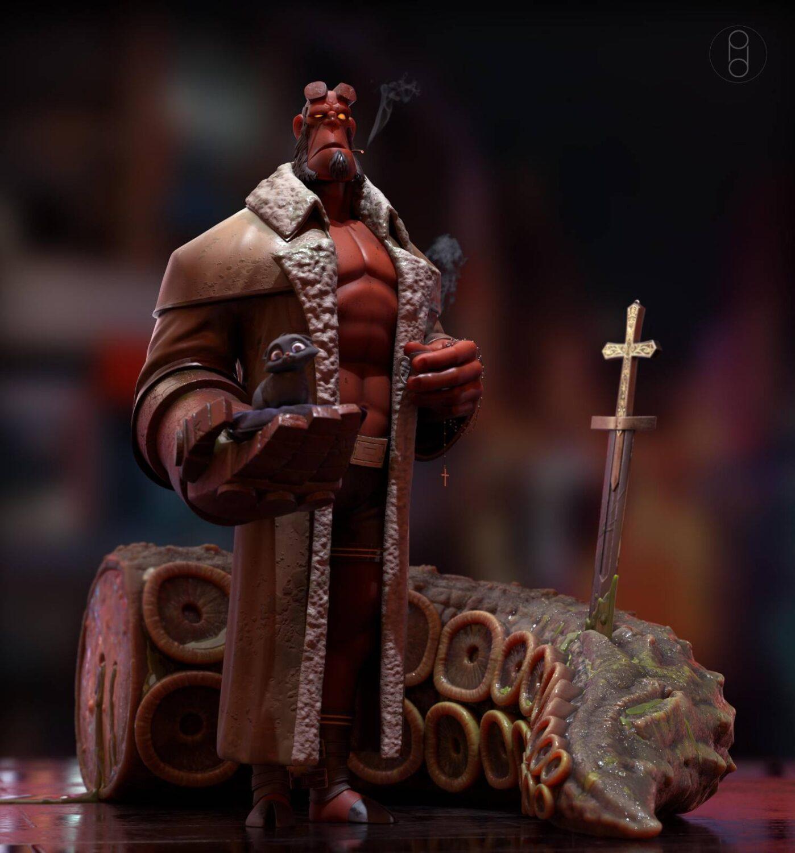 Hellboy Hellboy Hellboy